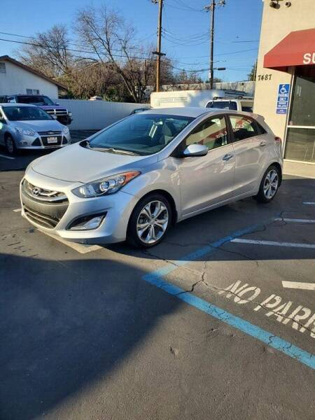 2013 Hyundai Elantra GT for sale at Success Auto Sales & Service in Citrus Heights CA