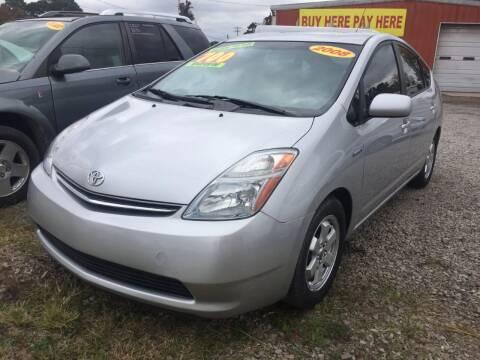 2008 Toyota Prius for sale at McAllister's Auto Sales LLC in Van Buren AR