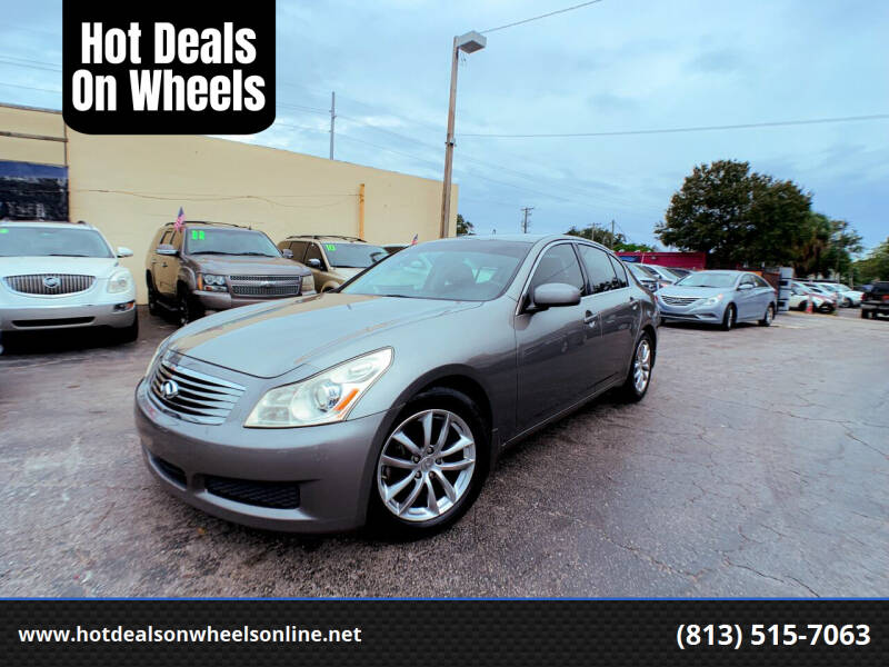 2007 Infiniti G35 for sale at Hot Deals On Wheels in Tampa FL