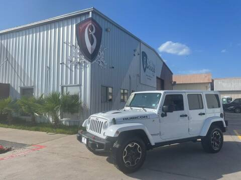 2016 Jeep Wrangler Unlimited for sale at Barrett Auto Gallery in San Juan TX