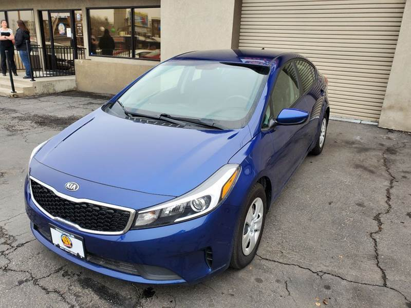2018 Kia Forte for sale at Utah Credit Approval Auto Sales in Murray UT