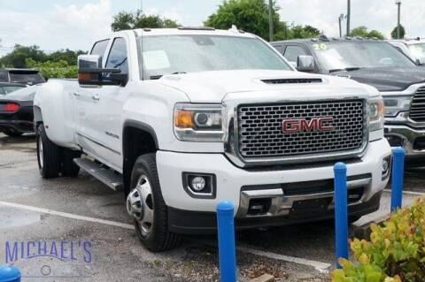 2017 GMC Sierra 3500HD for sale at Michael's Auto Sales Corp in Hollywood FL