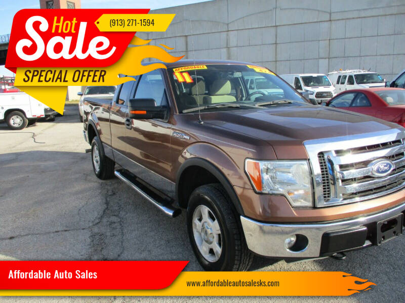 2011 Ford F-150 for sale at Affordable Auto Sales in Olathe KS