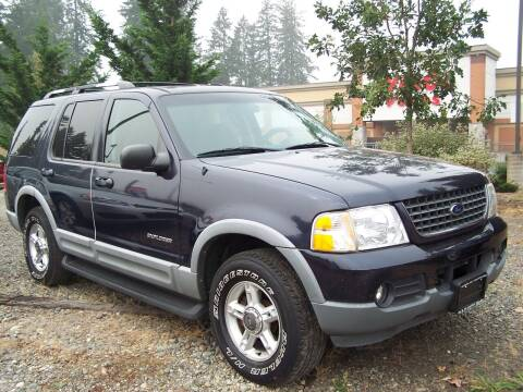 2002 Ford Explorer for sale at M & M Auto Sales LLc in Olympia WA