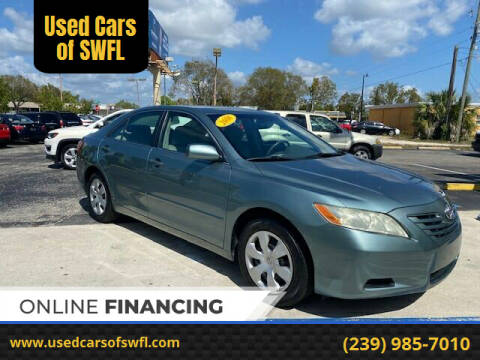 2008 Toyota Camry for sale at Used Cars of SWFL in Fort Myers FL