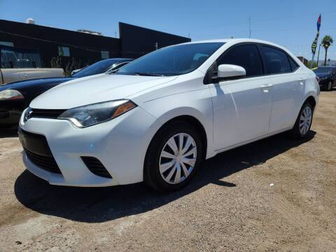 2014 Toyota Corolla for sale at Fast Trac Auto Sales in Phoenix AZ