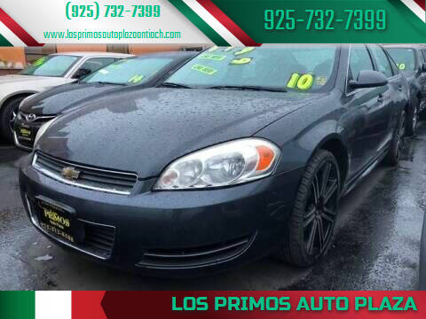 2010 Chevrolet Impala for sale at Los Primos Auto Plaza in Antioch CA