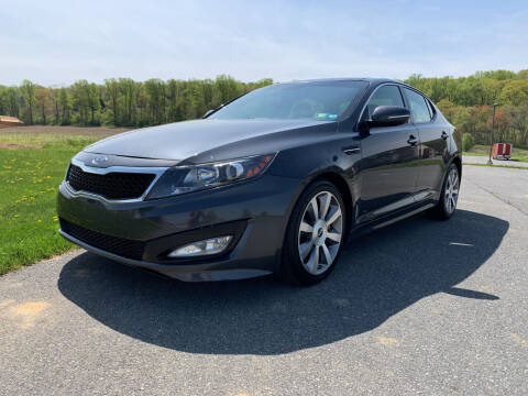 2011 Kia Optima for sale at Waltz Sales LLC in Gap PA