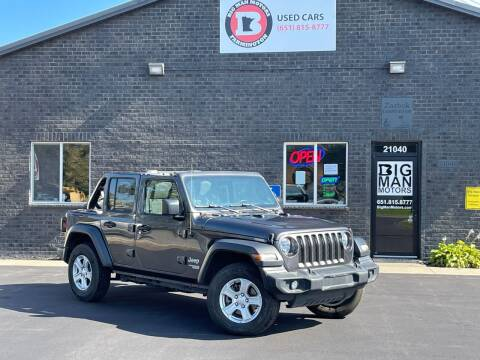 2020 Jeep Wrangler Unlimited for sale at Big Man Motors in Farmington MN