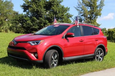 2017 Toyota RAV4 for sale at CHASE MOTOR in Miami FL