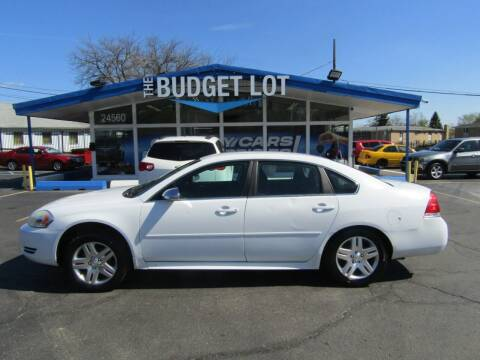 2013 Chevrolet Impala for sale at THE BUDGET LOT in Detroit MI