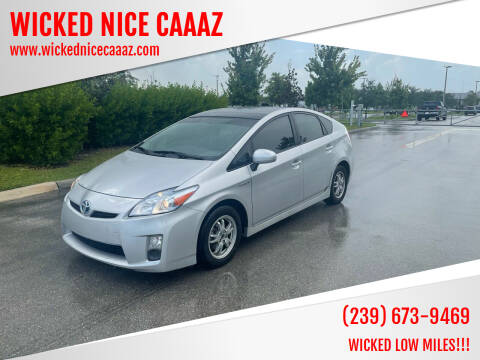 2010 Toyota Prius for sale at WICKED NICE CAAAZ in Cape Coral FL