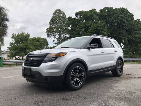 2015 Ford Explorer for sale at Auto Direct of South Broward in Miramar FL