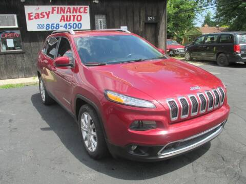 2014 Jeep Cherokee for sale at EZ Finance Auto in Calumet City IL