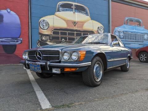 1973 Mercedes-Benz 450 SL for sale at California Automobile Museum in Sacramento CA