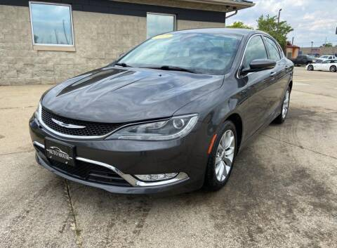 2015 Chrysler 200 for sale at Auto House of Bloomington in Bloomington IL