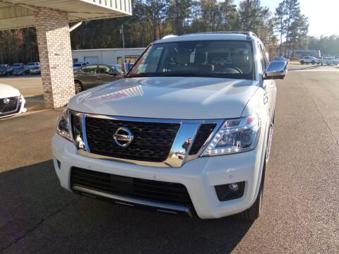 2020 Nissan Armada for sale at Howell Buick GMC Nissan - New Nissan in Summit MS