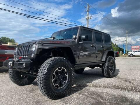 2016 Jeep Wrangler Unlimited for sale at 216 Auto Sales in Mc Calla AL