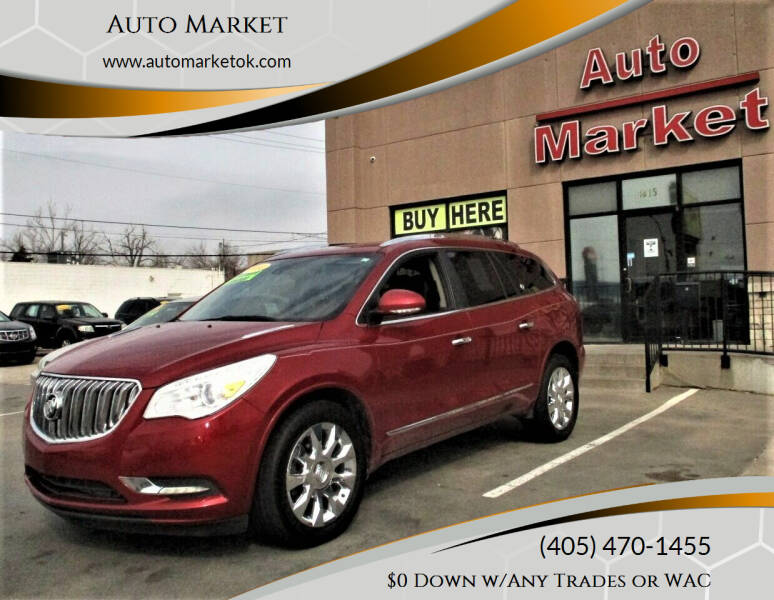 2014 Buick Enclave for sale at Auto Market in Oklahoma City OK