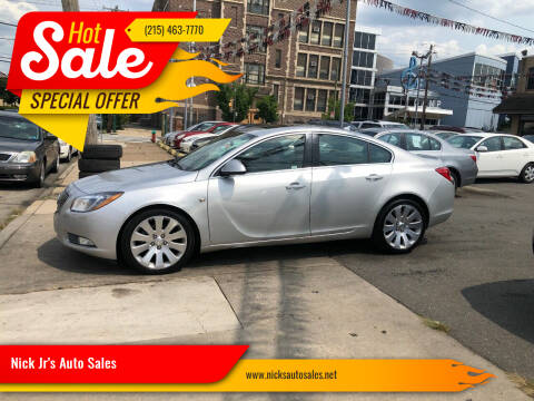 2011 Buick Regal for sale at Nick Jr's Auto Sales in Philadelphia PA