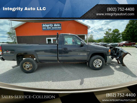 2005 GMC Sierra 2500HD for sale at Integrity Auto LLC - Integrity Auto 2.0 in St. Albans VT
