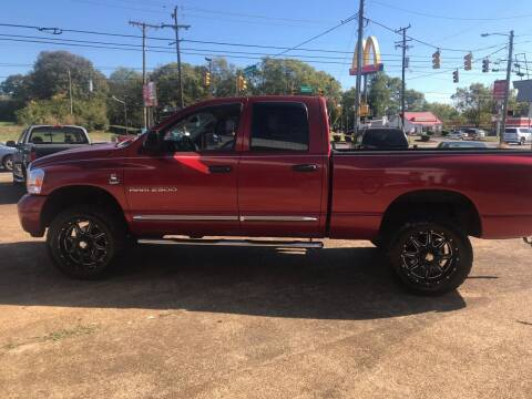 2006 Dodge Ram Pickup 2500 for sale at The Auto Lot and Cycle in Nashville TN