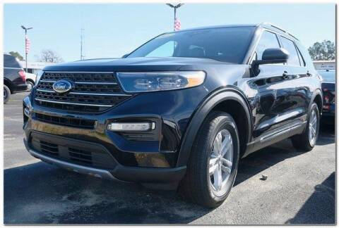 2021 Ford Explorer for sale at WHITE MOTORS INC in Roanoke Rapids NC
