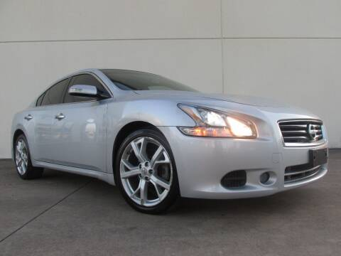 2012 Nissan Maxima for sale at QUALITY MOTORCARS in Richmond TX