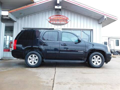 2013 GMC Yukon for sale at Motorsports Unlimited in McAlester OK