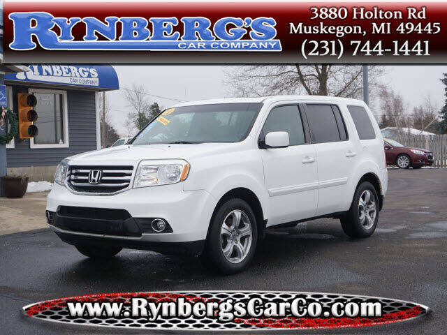 2013 Honda Pilot for sale at Rynbergs Car Co in Muskegon MI