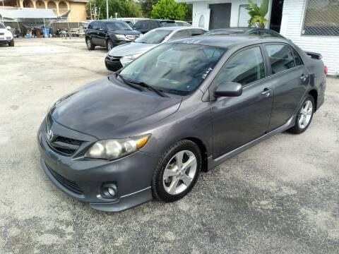 2011 Toyota Corolla for sale at P S AUTO ENTERPRISES INC in Miramar FL
