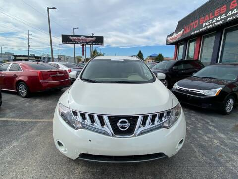 2009 Nissan Murano for sale at Washington Auto Group in Waukegan IL