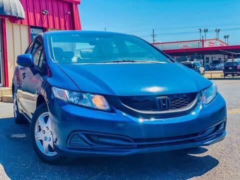 2013 Honda Civic for sale at MAGNA CUM LAUDE AUTO COMPANY in Lubbock TX