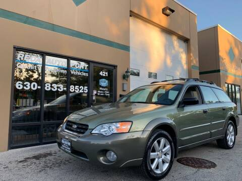 2007 Subaru Outback for sale at REDA AUTO PORT INC in Villa Park IL