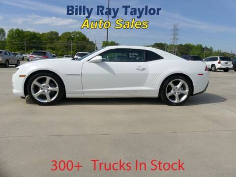 2015 Chevrolet Camaro for sale at Billy Ray Taylor Auto Sales in Cullman AL