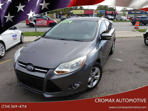 2012 Ford Focus for sale at Cromax Automotive in Ann Arbor MI