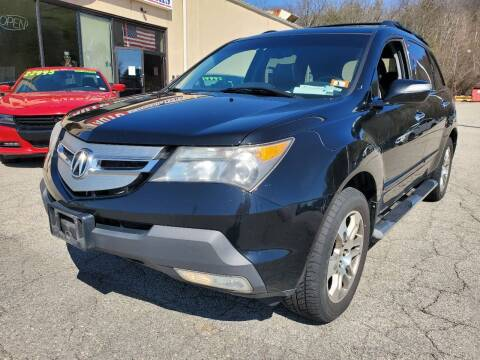 2008 Acura MDX for sale at Auto Wholesalers Of Hooksett in Hooksett NH