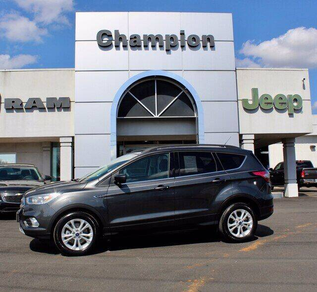 2017 Ford Escape for sale at Champion Chevrolet in Athens AL