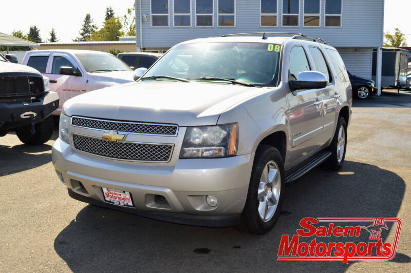 2008 Chevrolet Tahoe for sale at Salem Motorsports in Salem OR