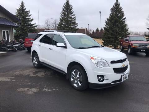 2012 Chevrolet Equinox for sale at Crown Motor Inc in Grand Forks ND