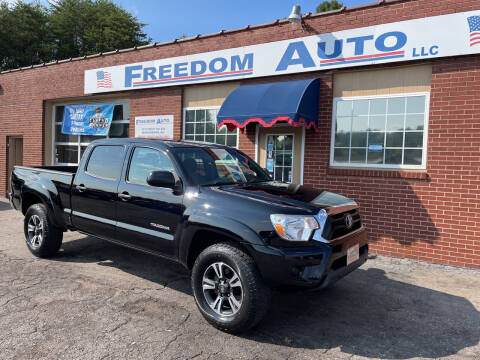 2013 Toyota Tacoma for sale at FREEDOM AUTO LLC in Wilkesboro NC