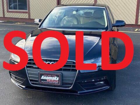 2013 Audi A4 for sale at Anamaks Motors LLC in Hudson NH
