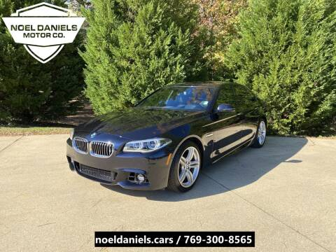 2015 BMW 5 Series for sale at Noel Daniels Motor Company in Brandon MS
