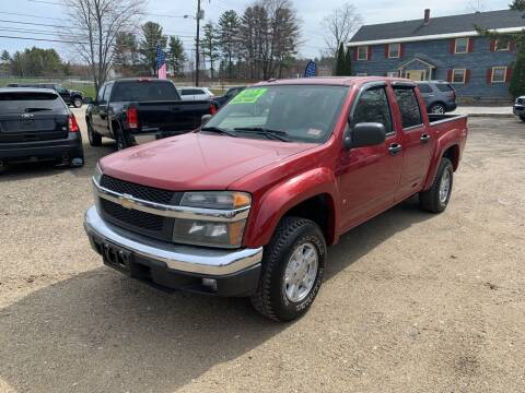2006 Chevrolet Colorado for sale at Winner's Circle Auto Sales in Tilton NH