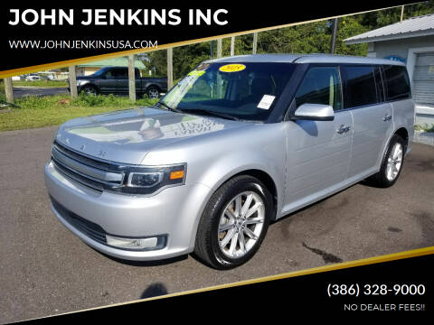 2015 Ford Flex for sale at JOHN JENKINS INC in Palatka FL