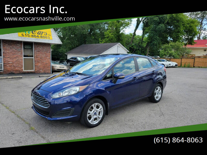 2016 Ford Fiesta for sale at Ecocars Inc. in Nashville TN