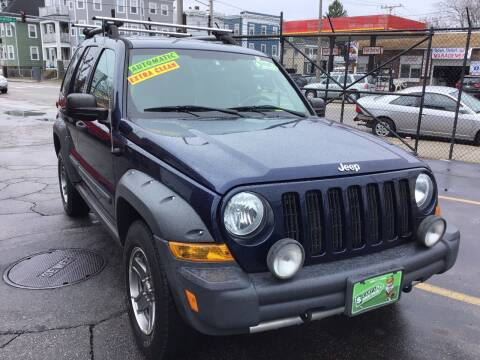 2005 Jeep Liberty for sale at Adams Street Motor Company LLC in Dorchester MA