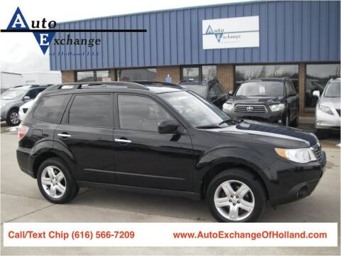 2010 Subaru Forester for sale at Auto Exchange Of Holland in Holland MI