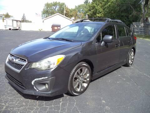 2013 Subaru Impreza for sale at Niewiek Auto Sales in Grand Rapids MI