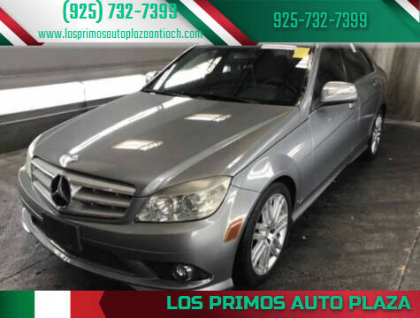 2008 Mercedes-Benz C-Class for sale at Los Primos Auto Plaza in Antioch CA